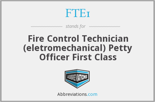 What does FTE1 stand for?