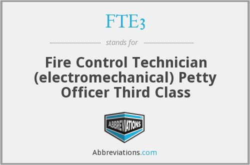 What does FTE3 stand for?