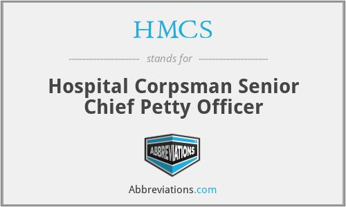 HMCS - Hospital Corpsman Senior Chief Petty Officer