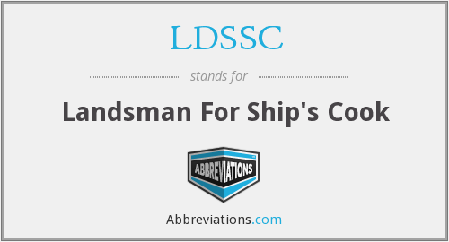 What does LDSSC stand for?