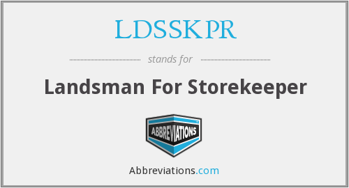 What does LDSSKPR stand for?