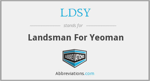 What does LDSY stand for?