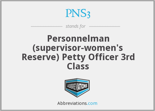 What does PNS3 stand for?