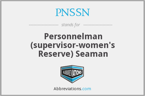 What does PNSSN stand for?