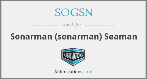 What does SOGSN stand for?