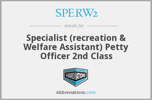 What does SPERW2 stand for?