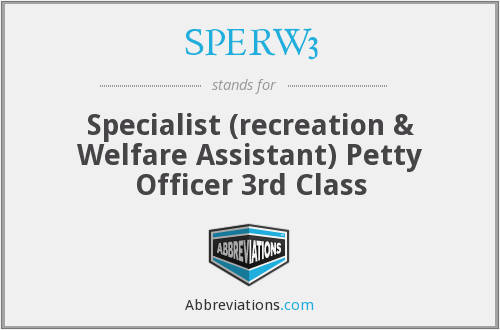 What does SPERW3 stand for?