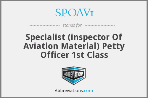What does SPOAV1 stand for?