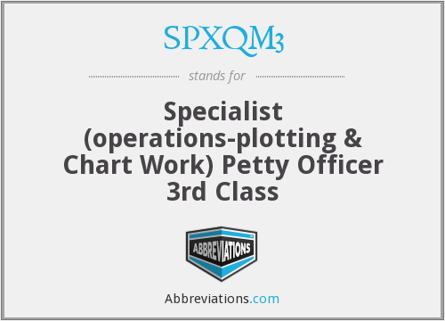 SPXQM3 - Specialist (operations-plotting & Chart Work) Petty Officer 3rd Class