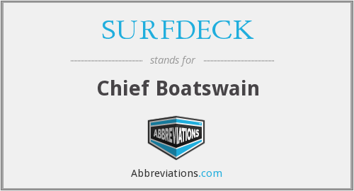 What does SURFDECK stand for?