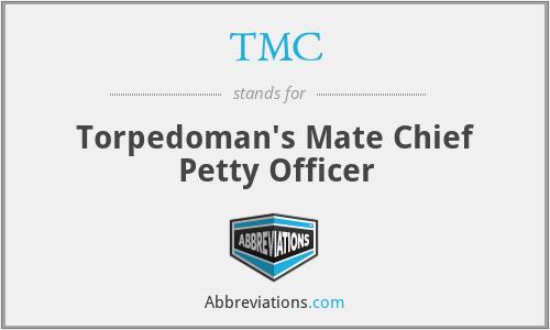 TMC - Torpedoman's Mate Chief Petty Officer