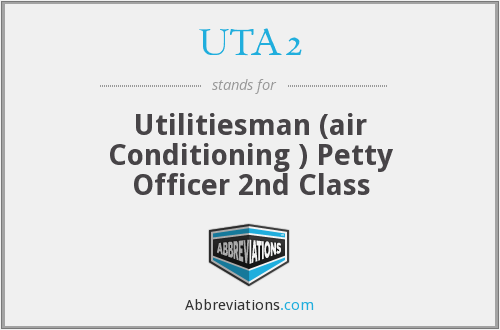 What does UTA2 stand for?
