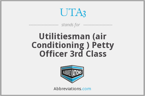 What does UTA3 stand for?
