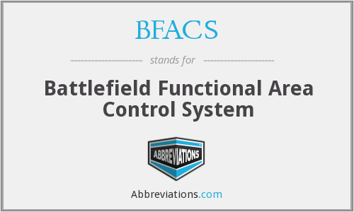 What does BFACS stand for?
