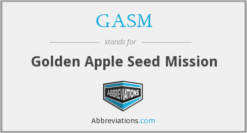 What does GASM stand for?