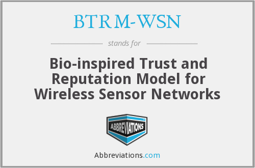 What does BTRM-WSN stand for?