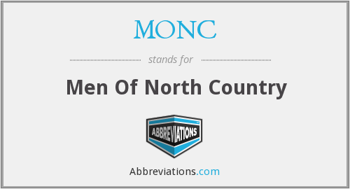MONC - Men Of North Country