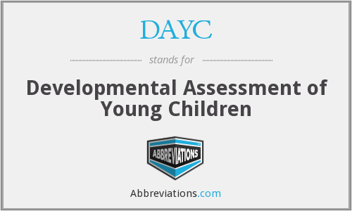 What does DAYC stand for?