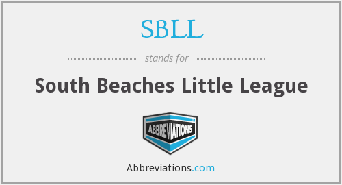 What does SBLL stand for?