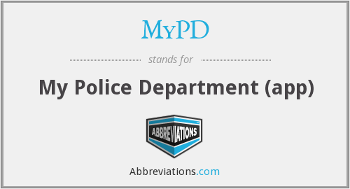 What does MYPD stand for?