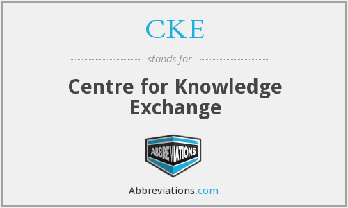 CKE - Centre for Knowledge Exchange