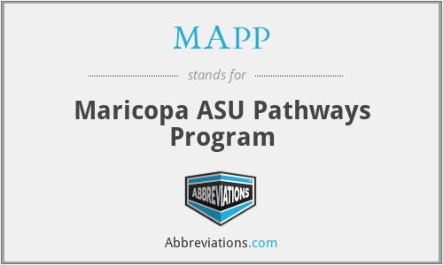 MAPP - Maricopa ASU Pathways Program
