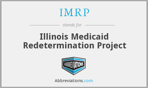 What does IMRP stand for?
