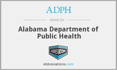 What does ADPH stand for?