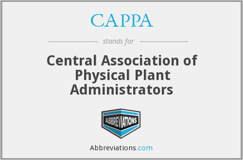 CAPPA - Central Association of Physical Plant Administrators