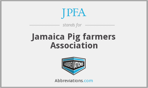 What does JPFA stand for?