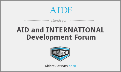 What does AIDF stand for?