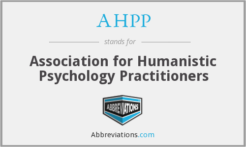 AHPP - Association for Humanistic Psychology Practitioners