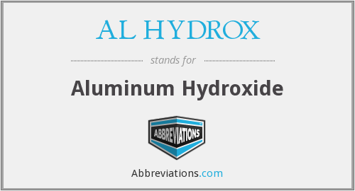 What does AL HYDROX stand for?