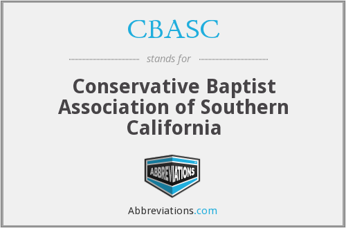 CBASC - Conservative Baptist Association of Southern California