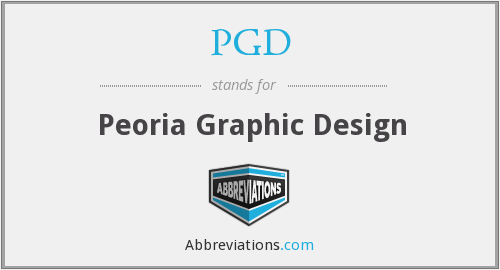 PGD - Peoria Graphic Design