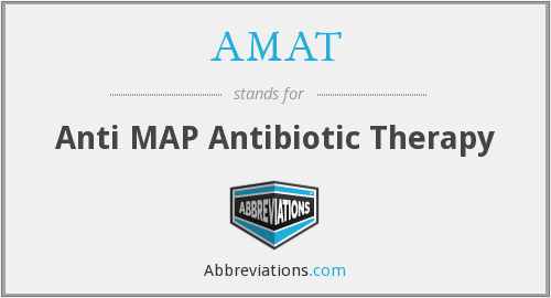 AMAT - Anti MAP Antibiotic Therapy