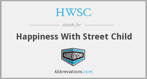 HWSC - Happiness With Street Child