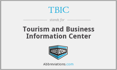 TBIC - Tourism and Business Information Center