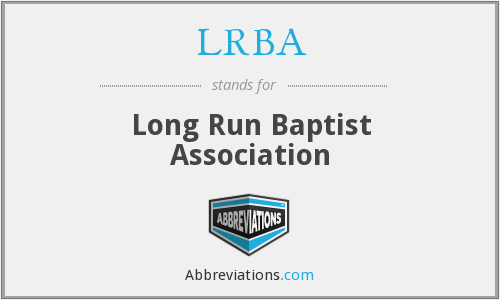 LRBA - Long Run Baptist Association