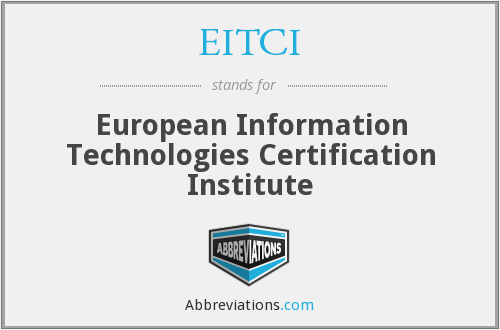 What does EITCI stand for?