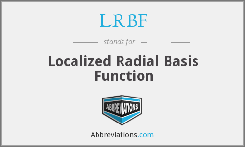 What does LRBF stand for?