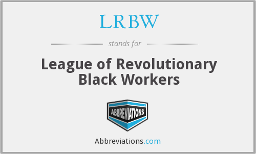 What does LRBW stand for?