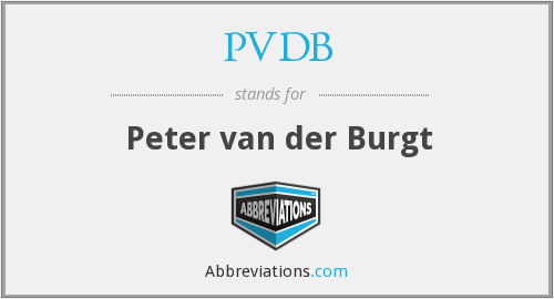 What does PVDB stand for?
