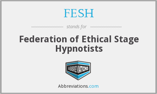 What does FESH stand for?