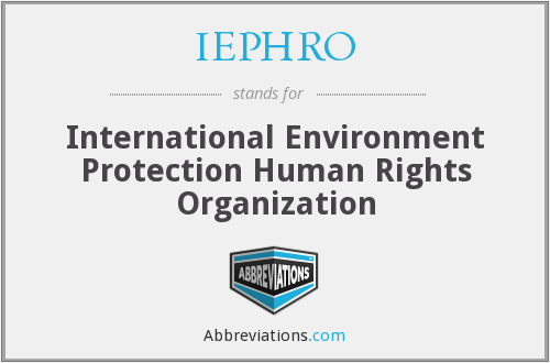 What does IEPHRO stand for?