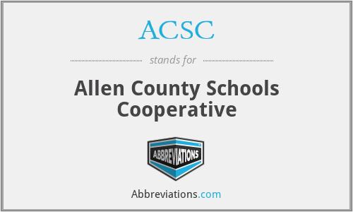 ACSC - Allen County Schools Cooperative