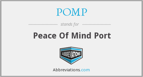 What does POMP stand for?