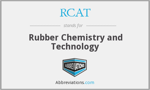 RCAT - Rubber Chemistry and Technology