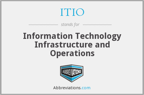 What does ITIO stand for?