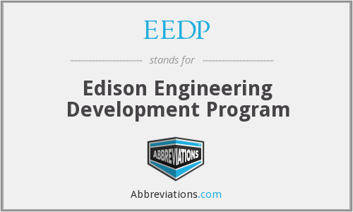 What does EEDP stand for?